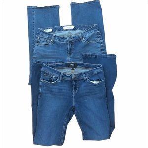 (2) Torrid bootcut jeans size 10R